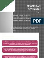 Slide Posyandu