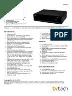 Ficha Tecnica HD845 T