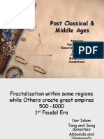 review - post classical & middle ages