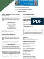 Warsaw News Sheet and Readings 10th May 2015