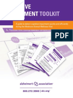 Cognitive Assessment Toolkit