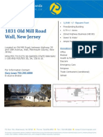 1831 Old Mill Road Wall Flyer