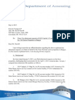 Formal Denial Letter May 6, 2015