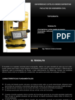 CLASES PP Top. 12,13 - 23 (FIC-UCSS)2013 II (Teodolito, Angulos Horizontales,Verticales