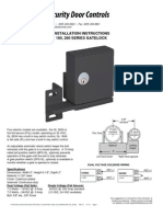 SDC GL263RH Instruction Manual