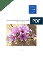 Gender and Agri Innovation System - Jul 1-2011