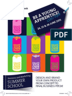 Leaflet Business and Marketing Summer School 2015