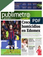 Publimetro DF 7 Mayo 2015