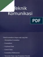 Teknik Komunikasi Sk1 Ppt