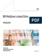 Introduction to IBM WebSphere Lombardi Edition - Paul Pacholski