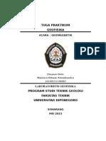 Paper Praktikum Geofisika Metode Geomaknetik
