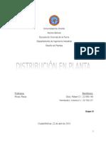 Distribución en Plantas