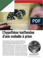 S&A Oct 2012 - Prions Et Alzheimer