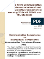 Goldstein Communicative to Intercultural