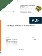Estrategias de Mercado (Logistica)