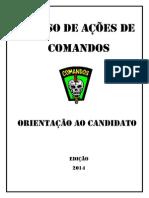 Orientação Ao Candidato - CAC 2014