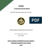 Lahirnya Mahkamah Konstitusi Indonesia
