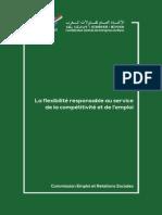 CGEM La Flexibilité Responsable Au Service de La Compétitivité Et de l'Emploi Au Maroc