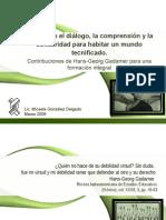 25 Formar en el diálogo Aguilar Sahagún 2009.ppt