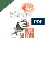 ANDRADE, Carlos Drummond - A Rosa Do Povo
