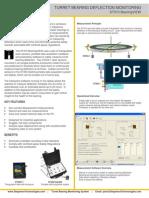 Turret Bearing Deflection Monitoring