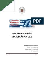 Programación Matemática con SAS®, FORTRAN-NAG y MPL