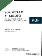 Sociedad y Medio en La Tradición Geografica Francesa, Artículos_1