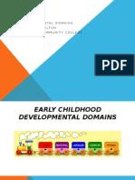 presentation developmentals domains