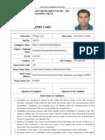 Direct Recruitment for Mts – 2015 ,Maharastra Circle