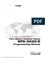 Notifier NFS 3030 E Programming Manual1