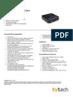3 - Ficha Tecnica GigaTV HD840 Dual Core