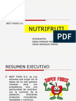 Plan de Negocio nutri fruit