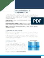 (04) Clasificacion Nacional de Ocupaciones CNO