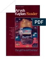 Aryeh Kaplan the Aryeh Kaplan Reader the Gift He Left Behind