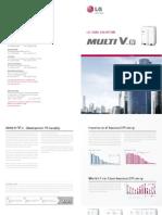LG Multi v Brochure 2014