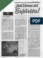 ¡Sed Llenos Del Espíritu! PDF