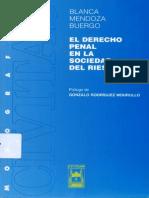 Mendoza Buergo, Blanca - El Derecho Penal en La Sociedad Del Riesgo