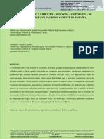 Sustentabilidade e Participação Social Cooperativa de Agricultores Familiares No Agreste Da Paraíba
