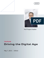 Rupert Stadler - Driving the Digital Age