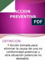 Acción preventiva