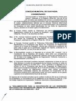 2013-09-25 Reglamentación Para La Recuperación de Inversiones Realizadas Por Regeneración Urbana en Los Años 2011-2012. PDF