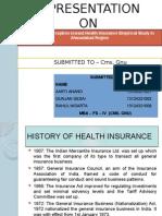Customer's perceptions toward health insurance empirical study in ahmadabad region presentation