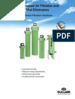 Sullair Compressed Air Filtration and Mist Eliminators