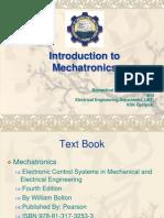 P # 1, Introduction to Mechatronics