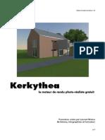 Syllabus Formation Kerkythea1.01