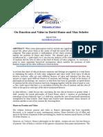 Artigos Phaidea Sobre Scheler e Educacao