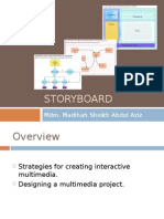 Storyboard, User Interface FlowchartCHAPTER #