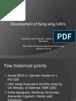 Development of Flying Wing UAV