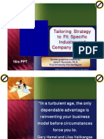 Strategi Industri Spesifik (english) - manajemen strategi