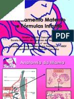 Aleitamento Materno e Fórmulas Infantis